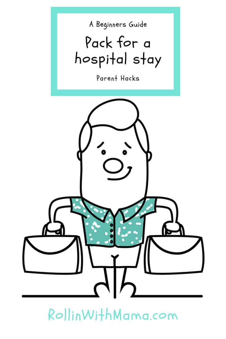 packing for hospital stay, one parent's hospital hacks #hospital #disability #operation #specialneedskids