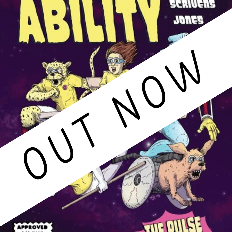 Department Of Ability Comic is out now