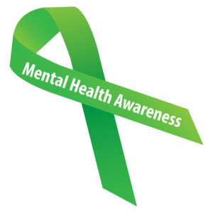 Mental health Awareness Week Ribbon